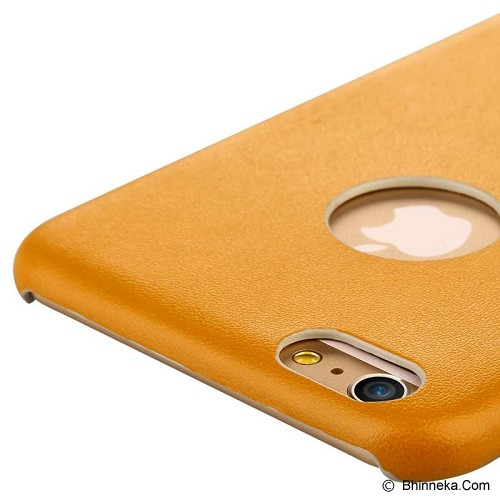 BASEUS Thin Case for Apple iPhone 6 Plus [EHAPIPH6P-0Y] - Yellow - Casing Handphone / Case